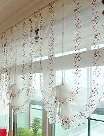 Balloon Curtains for Bedroom Amazon Mzpride Romantic Cherry Blossom Voile Curtain