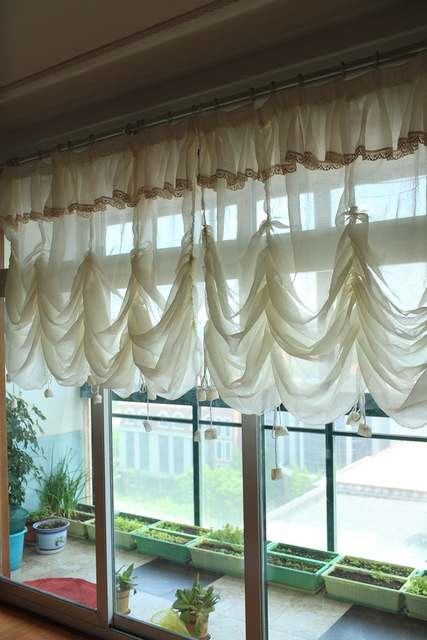 Balloon Curtains for Bedroom Us $34 8 Off Elegant Light Yellow Tulle Curtains for Living Room Lace Sheer Balloon Curtain Valance for Window Bedroom Curtain for Home