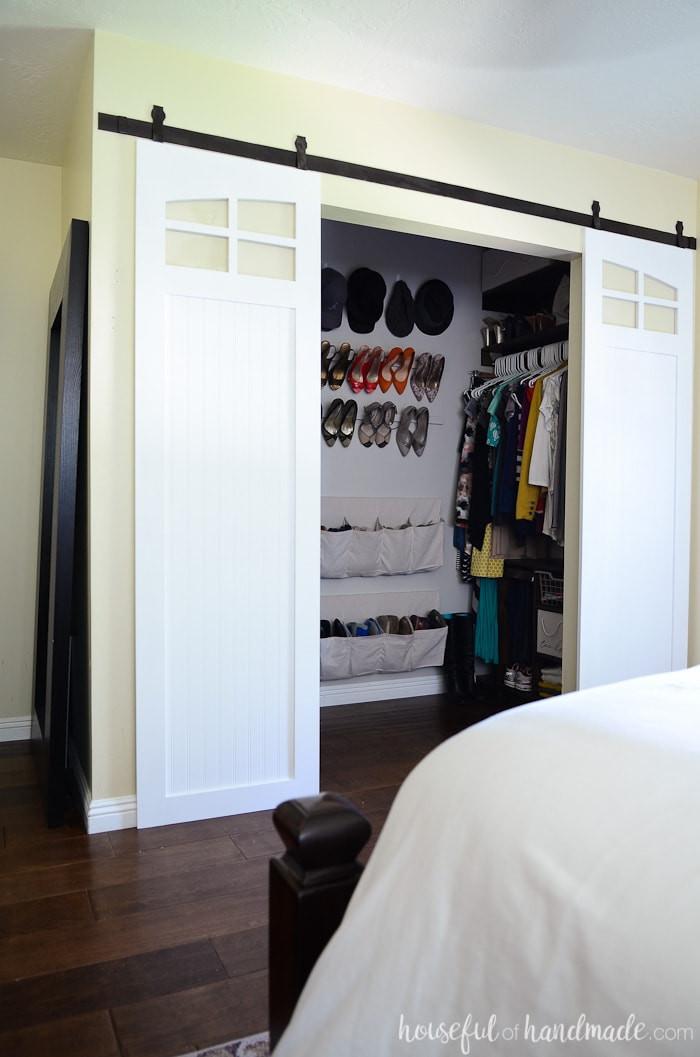 Barn Doors for Bedroom Closet Sliding Barn Doors Build Plans Houseful Of Handmade