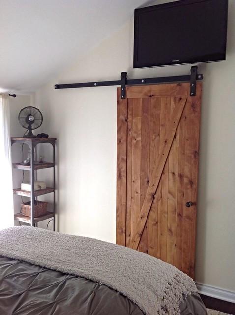 Barn Doors for Bedroom Z Barn Door Rustic Bedroom Salt Lake City by Rustica