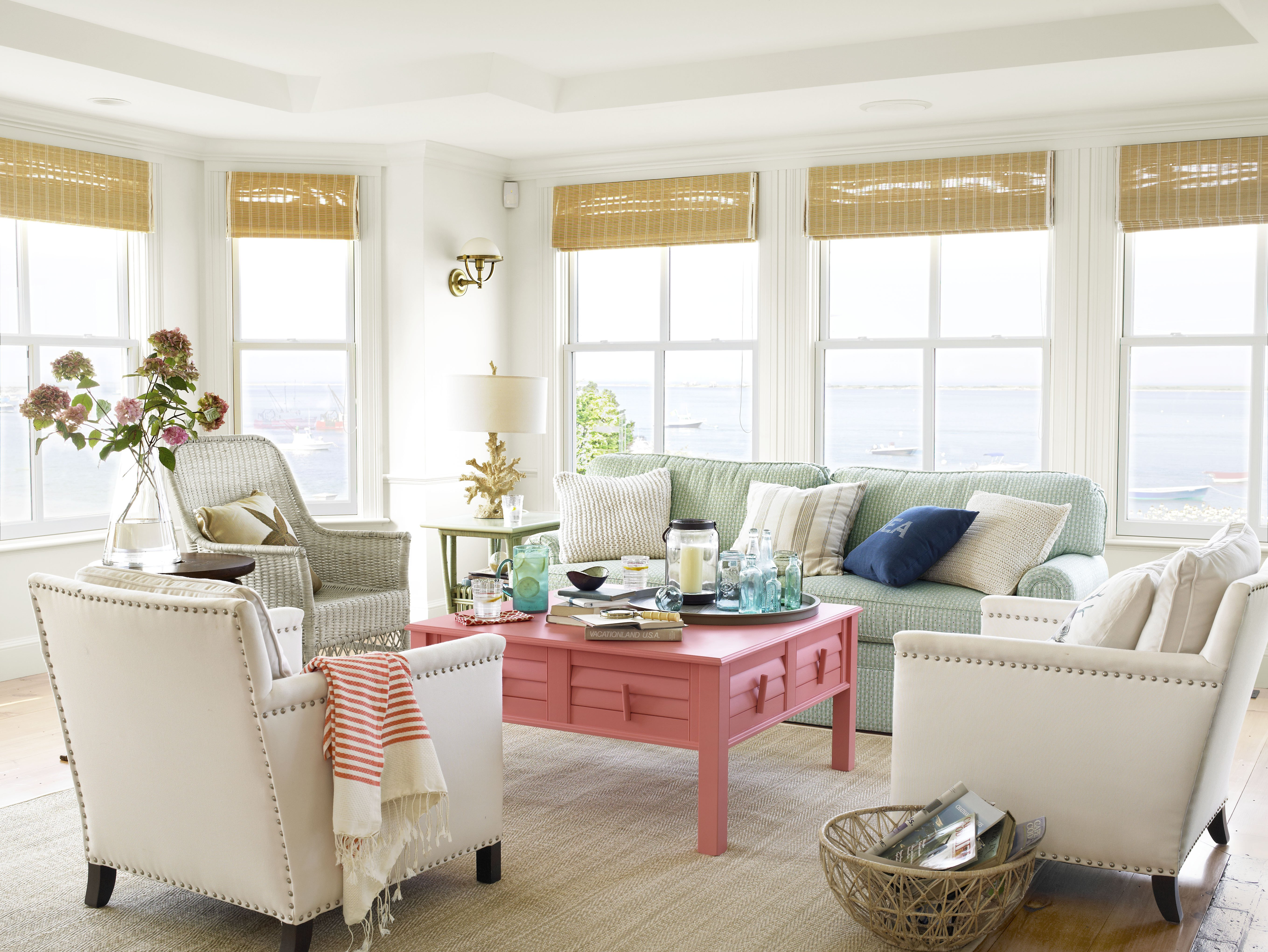 Beach House Living Room Decor 40 Beach House Decorating Beach Home Decor Ideas