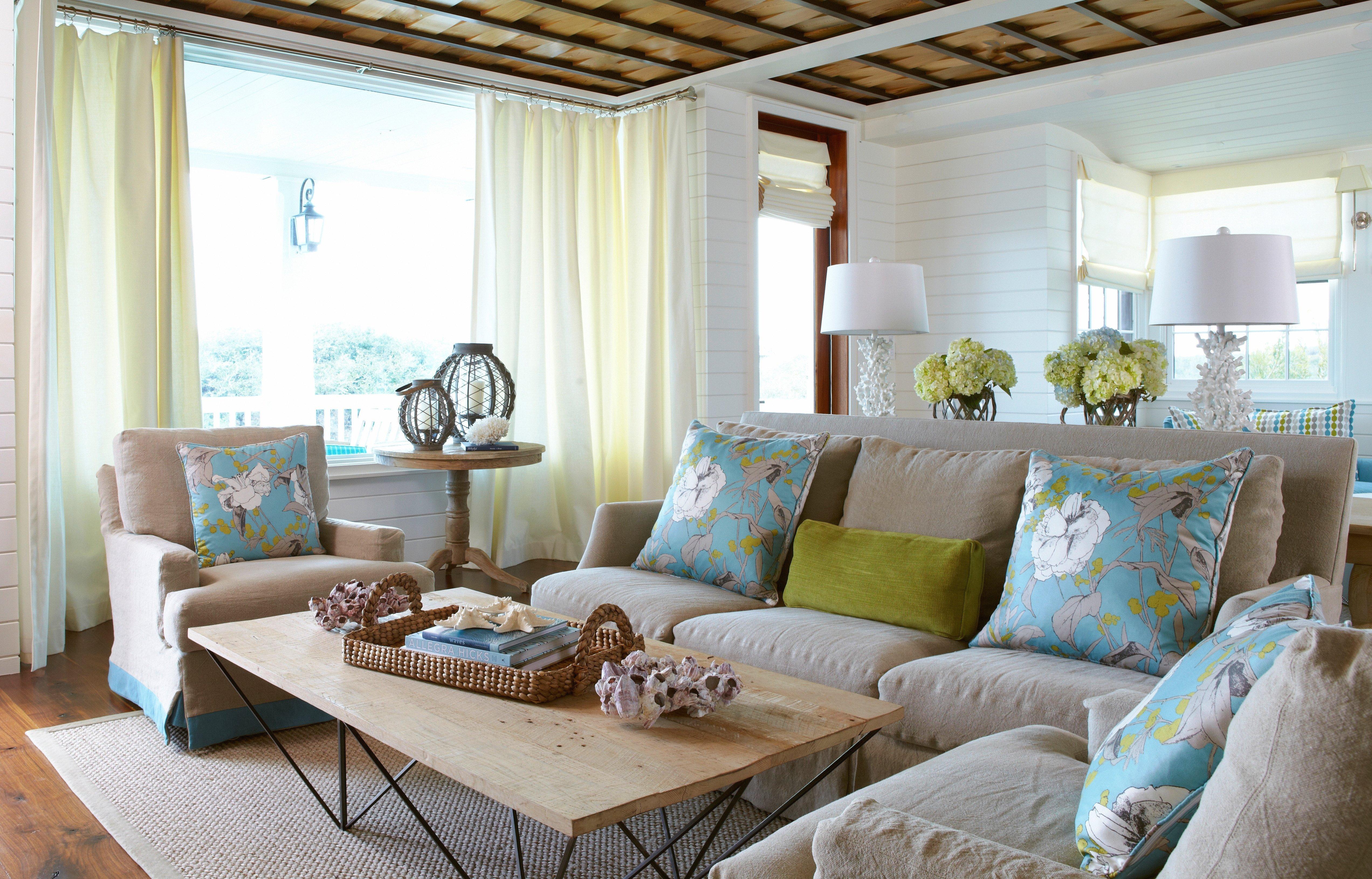 Beach House Living Room Decor Beach Escape Living Room