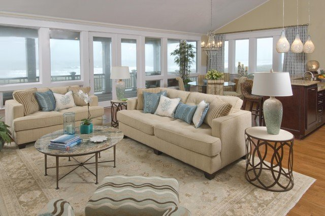 Beach House Living Room Decor Beach House Living Room Traditional Living Room