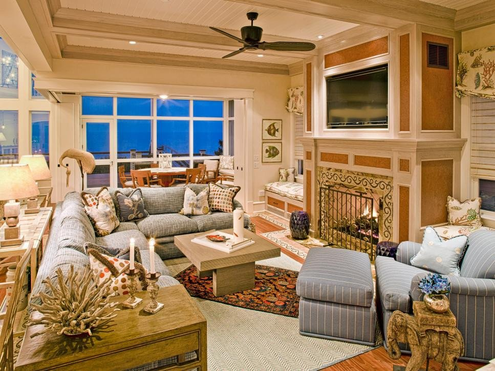 Beach House Living Room Decor Coastal Living Room Ideas