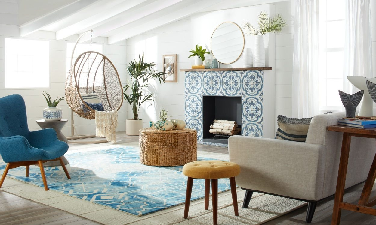 Beach House Living Room Decor Fresh & Modern Beach House Decorating Ideas Overstock