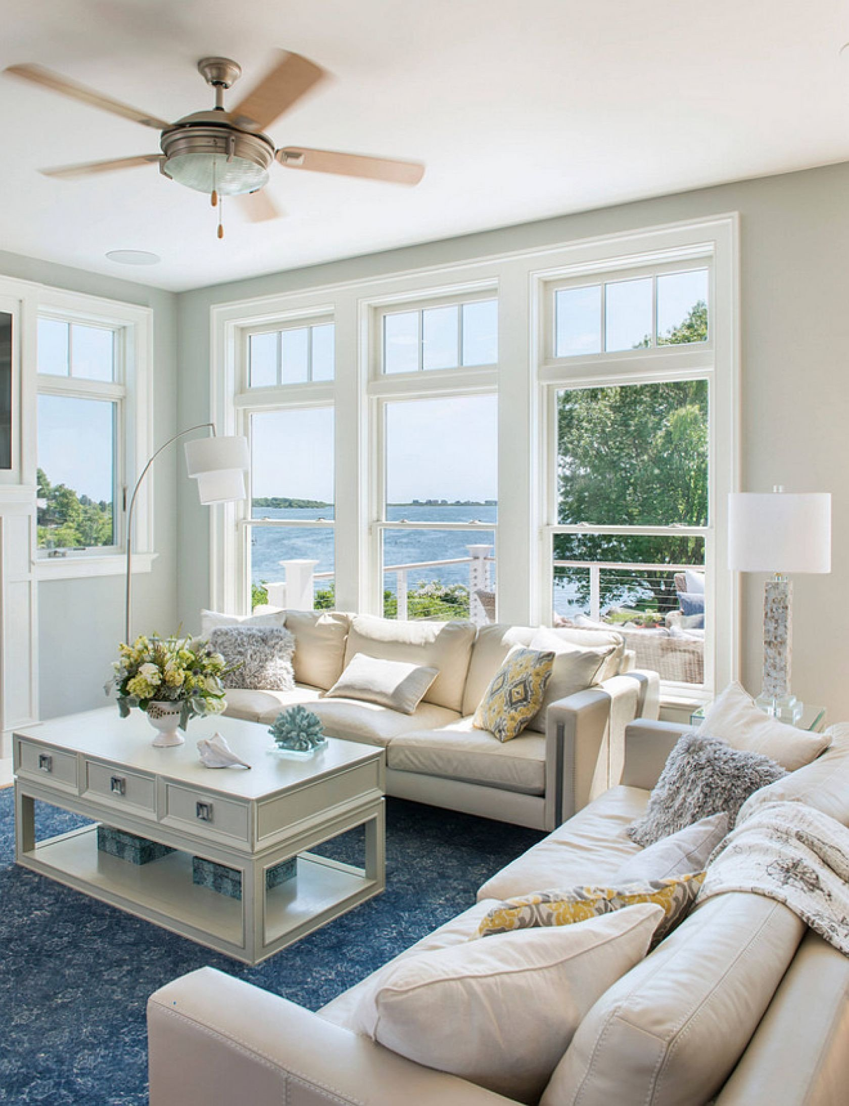 Beach House Living Room Decor Rhode island Beach Cottage Living Room