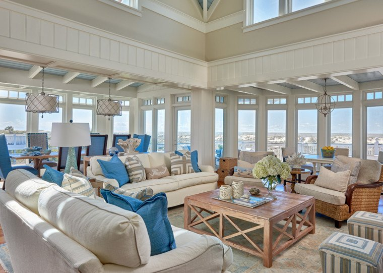 Beach House Living Room Decor southern Studio Interior Design
