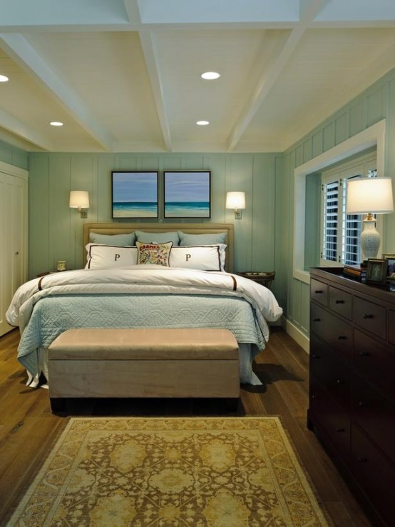Beach theme Bedroom Decor 49 Beautiful Beach and Sea themed Bedroom Designs