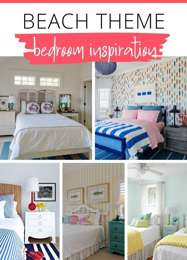 Beach themed Bedroom Furniture Beach themed Bedrooms Ideas