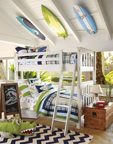 dreamy beach and sea inspired kids room designs 4