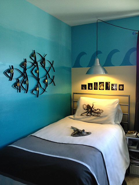 Beach themed Kids Bedroom Tween S An Ocean themed Room