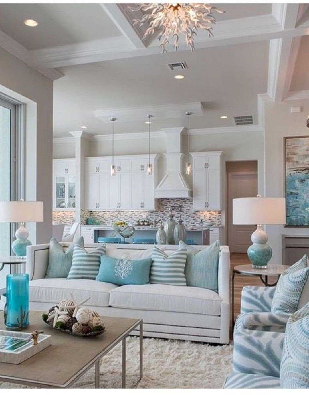 Beach themed Living Room Decor 16 Refreshing Home Decoration Ideas to Bring Out Coastal