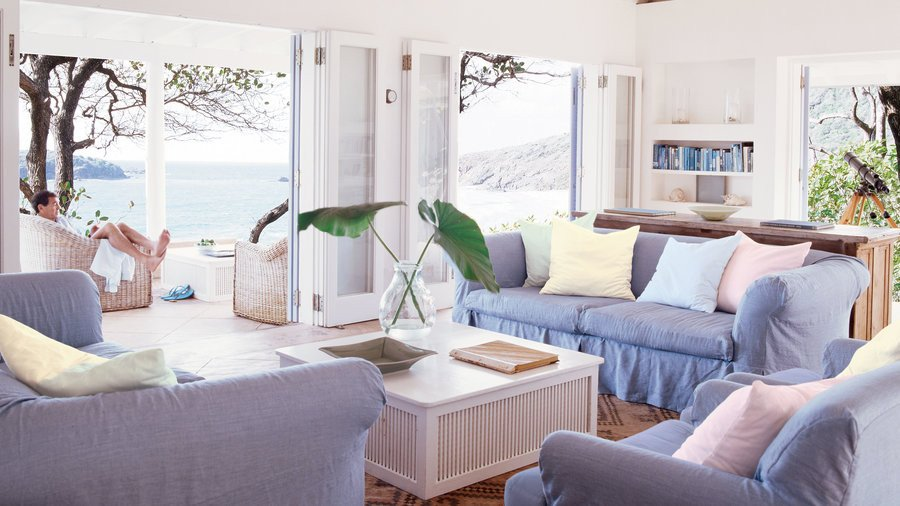 Beach themed Living Room Decor 48 Beautiful Beachy Living Rooms Coastal Living