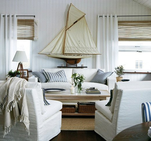 Beach themed Living Room Decor 7 Coastal Decorating Tips – Plushrugs
