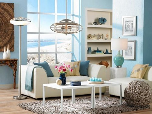 Beach themed Living Room Decor Decorating theme Bedrooms Maries Manor Beach