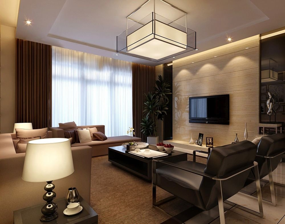 Beautiful Contemporary Living Room Beautiful Modern Living Room 3d Design