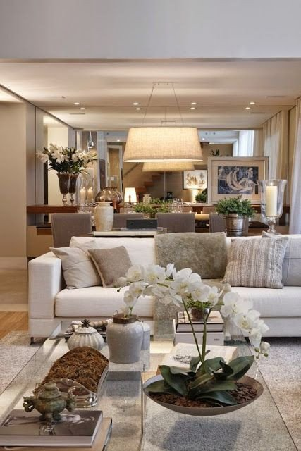 Beautiful Traditional Living Room Beautiful Traditional Style Decor In A Neutral Color