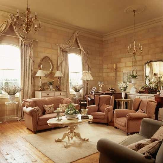 Beautiful Traditional Living Room Trompe L Oeil Rooms