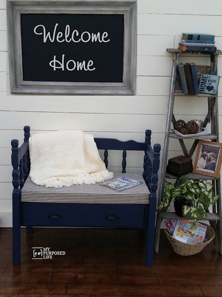 Bedroom Bench with Back 20 Diy Storage Benches You Can Make Bob Vila