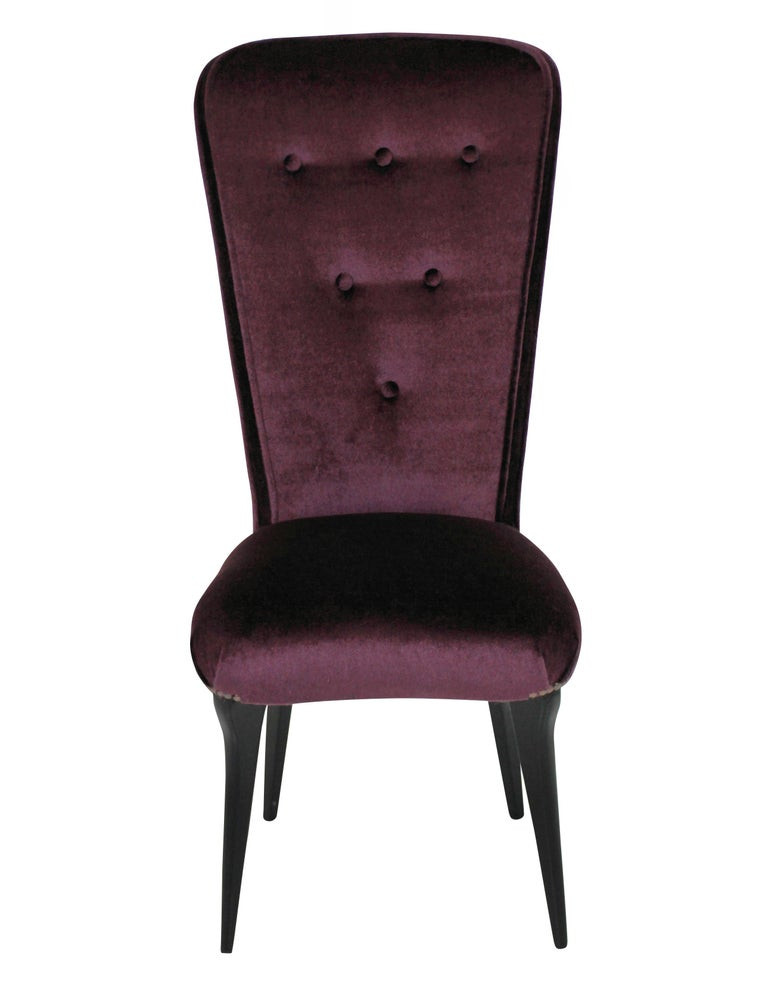 Bedroom Chairs for Sale Pair Of Stylish Italian Bedroom Chairs In Mohair Velvet