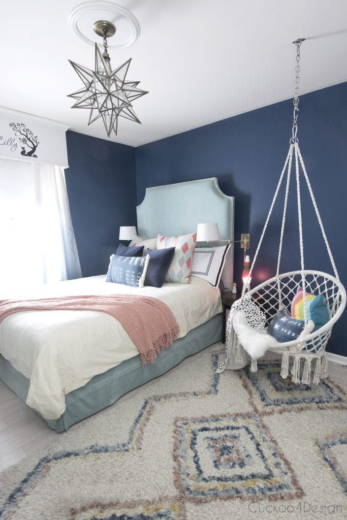 Bedroom Decor for Teenage Girl Beautiful Blue Bedroom Decor Ideas Blue Teenage Girl