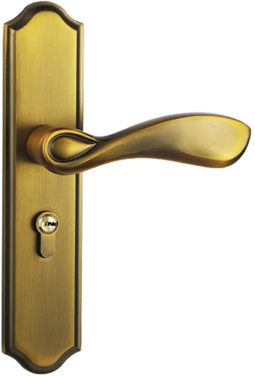 Bedroom Door Handle with Lock Amazon Simple Lever Door Lock Bedroom Silent solid