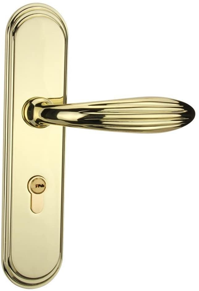 Bedroom Door Handle with Lock Biutefang Door Lock Mute Door Lock Bedroom Door Handle
