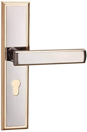 Bedroom Door Handle with Lock Wxian Door Locks Levers Door Knobs with Lock Cylinder