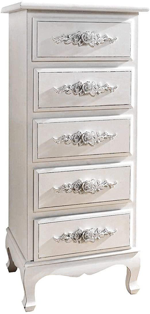 Bedroom Dressers and Chests Chest Of Drawers White Dressers for Bedroom Girls Antique Shabby Chic Wood Storage
