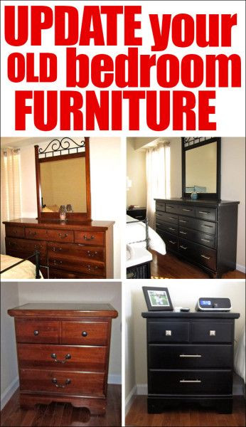 Bedroom Furniture Hardware Replacement From Traditional to Modern Revamped Bedroom Furniture