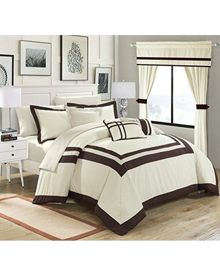 Bedroom In A Bag with Curtains Get Ready for 2020 F Chic Home Ritz 20 Piece