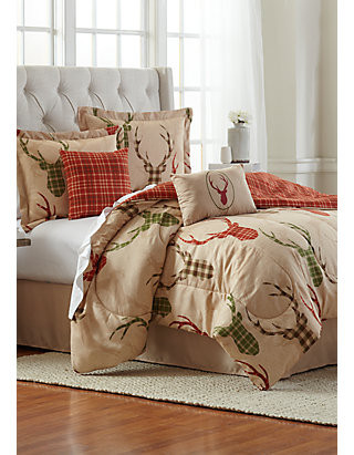 Bedroom In A Bag with Curtains Oh Deer 6 Piece forter Bed In A Bag
