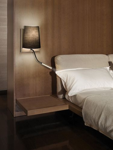 Bedroom Reading Light Wall Mounted Hotel Wall Light by Alma Light 2modern