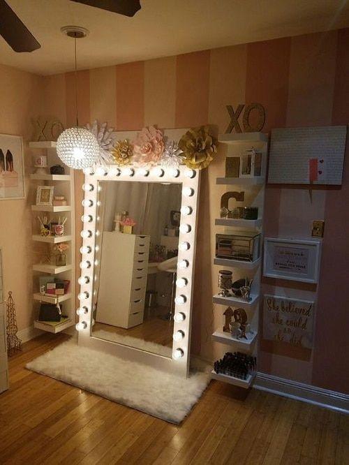 Bedroom Vanities with Light ■17 Diy Vanity Mirror Ideas to Make Your Room More