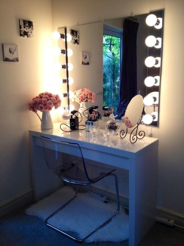Bedroom Vanities with Light attractive Makeup Vanities for Bedrooms with Lights