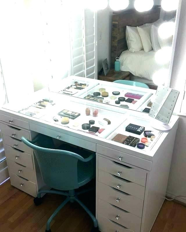 Bedroom Vanity with Drawers Bedroom Vanity Desk Makeup Vanity Desk Mirror with Lights