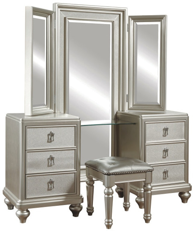 Bedroom Vanity with Drawers Samuel Lawrence Bedroom Vanity Dresser W Stool 8808 012
