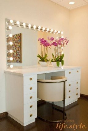 Bedroom Vanity with Light 50 Best Makeup Vanity Table with Lights Ideas On Foter