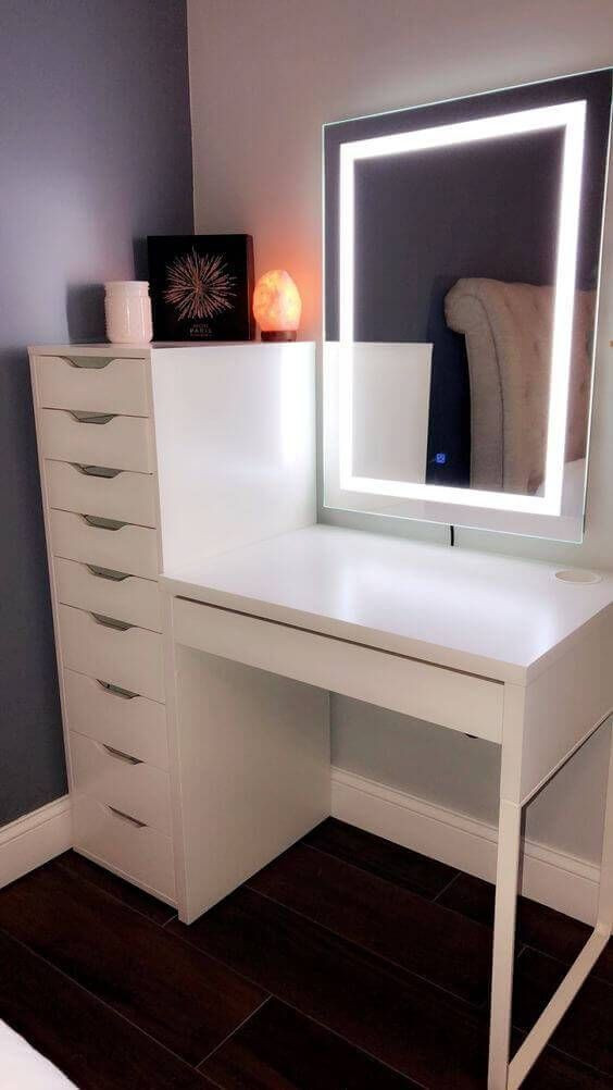 Bedroom Vanity with Light 7 Modern Vanity Mirror with Led Light