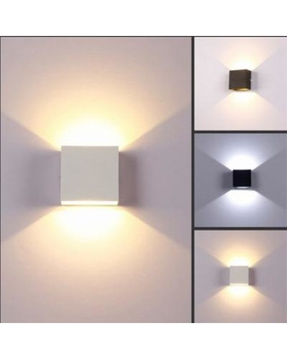 Bedroom Wall Light Fixtures Gbg Indoor 6w Dimmable Led Wall Lamps Ac100v 220v Aluminum Decorate Wall Sconce Bedroom Led Wall Light Black Warm Light From Walmart