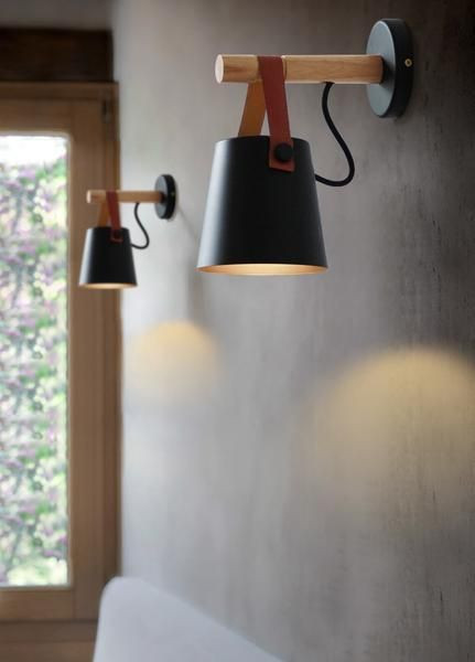 Bedroom Wall Light Fixtures nordic Wooden Hanging Wall Lamp In 2020