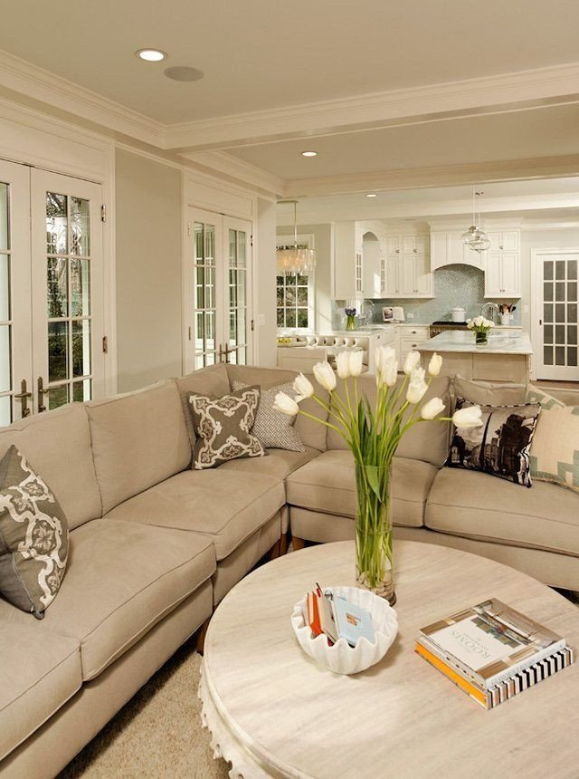 Beige Modern Living Room Decorating Ideas 33 Beige Living Room Ideas