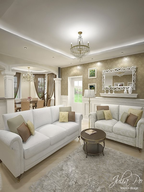 Beigh Modern Living Room Decorating Ideas 15 Flexible Beige Living Room Designs