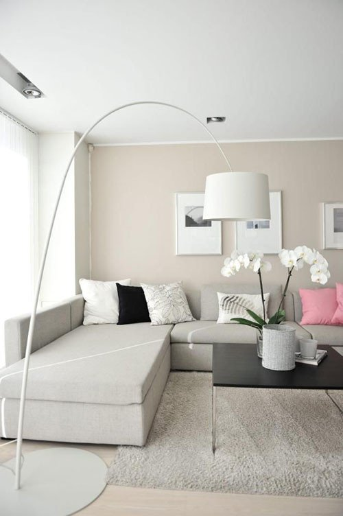 Beigh Modern Living Room Decorating Ideas 36 Light Cream and Beige Living Room Design Ideas
