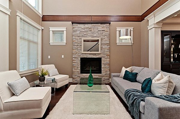 Beigh Modern Living Room Decorating Ideas How to Decorate with Beige