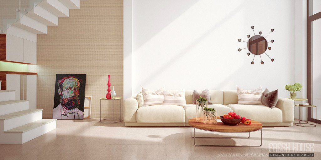 Beigh Modern Living Room Decorating Ideas Living Room Beige