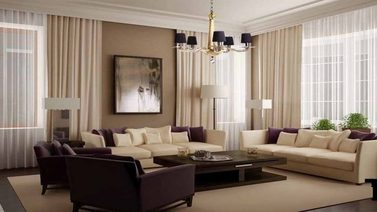 Beigh Modern Living Room Decorating Ideas Painting for Modern Living Room with Beige