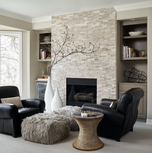 Beigh Modern Living Room Decorating Ideas Transitional Living Room In with Beige Walls Carpet and A