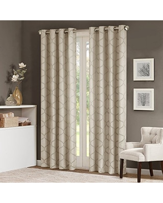 Best Curtains for Bedroom Madison Park Madison Park Grommet Curtains for Living Room Transitional Tan Window Curtains for Bedroom Family Room Amara Jacquard Living Room