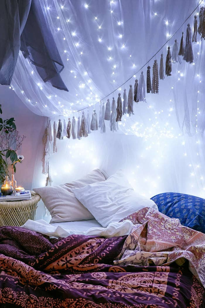 Best String Light for Bedroom 19 Super Cozy Ways to Use String Lights In Your Home